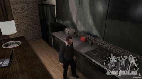 Maison chandail avec col pour GTA 4 secondes d'écran