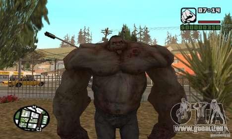 Tank von der Left 4 Dead für GTA San Andreas