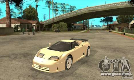 Bugatti EB110 SS 1992 pour GTA San Andreas