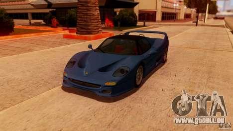 Ferrari F50 Coupe v1.0.2 für GTA San Andreas