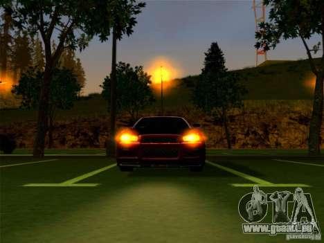 Nissan Skyline GT-R 34 pour GTA San Andreas vue de droite