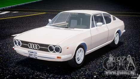 Audi 100 Coupe S pour GTA 4 Vue arrière