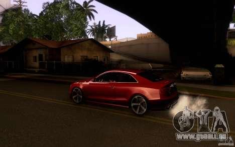 Audi RS5 pour GTA San Andreas laissé vue