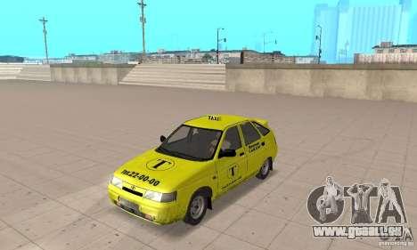 VAZ 21124 TAXI pour GTA San Andreas