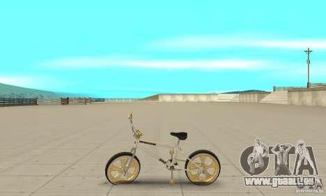Spin Wheel BMX v2 pour GTA San Andreas laissé vue