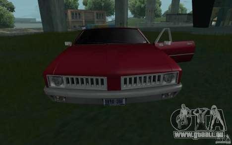 HD-Hengst aus GTA3 für GTA San Andreas rechten Ansicht