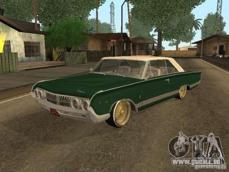 Mercury Park Lane Lowrider pour GTA San Andreas