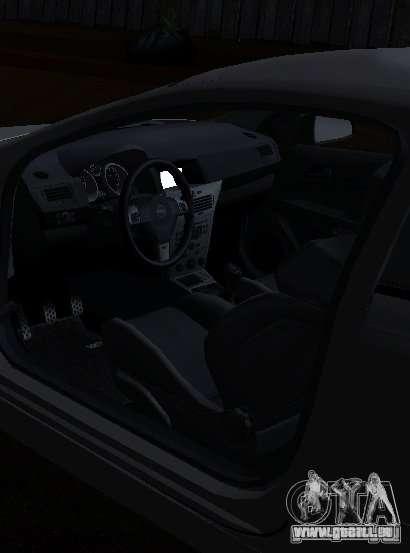 Opel Astra GSI pour GTA San Andreas sur la vue arrière gauche