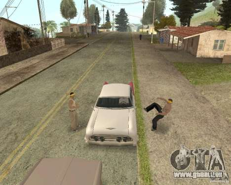 More Hostile Gangs 1.0 für GTA San Andreas siebten Screenshot