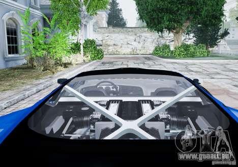 Jaguar XJ 220 pour GTA 4 Vue arrière