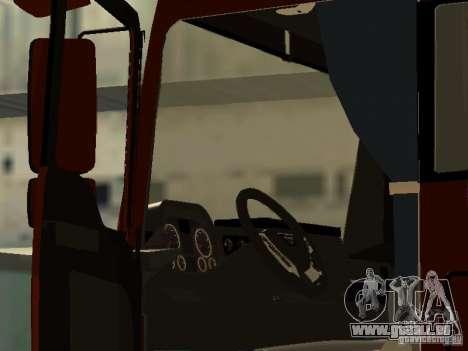 MAN TGA Vos Logistics pour GTA San Andreas vue de droite