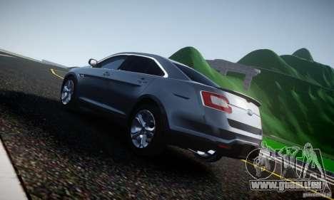 Ford Taurus SHO 2010 für GTA 4 Rückansicht