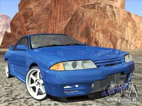Nissan Skyline GT-R 32 1993 pour GTA San Andreas vue de droite