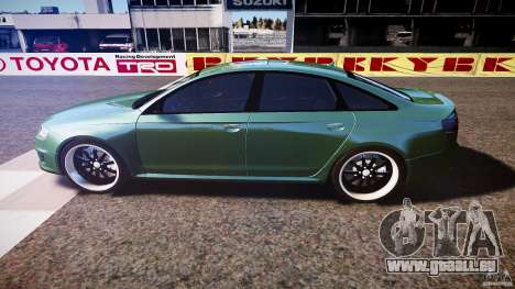 Audi RS6 2009 pour GTA 4 est une gauche
