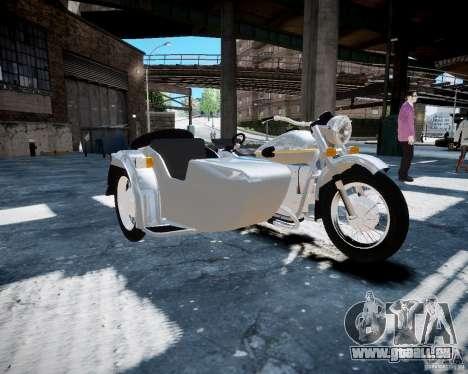 Ural m-67 pour GTA 4 est une gauche