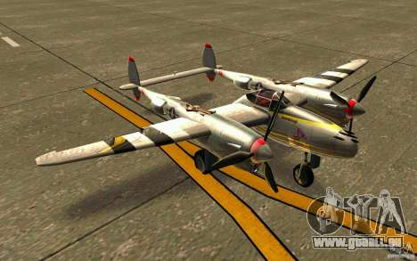 P38 Lightning pour GTA San Andreas