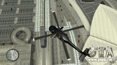 U.S. Air Force (annihilator) für GTA 4 Rückansicht