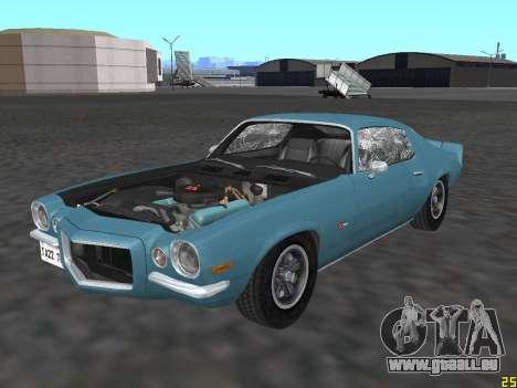 Chevrolet Camaro Z28 1971 für GTA San Andreas Seitenansicht
