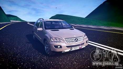 Mercedes-Benz ML 500 v1.0 für GTA 4 Rückansicht