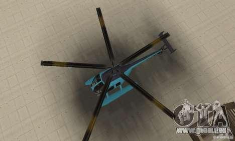 Nouveau Seaspar pour GTA San Andreas vue de droite