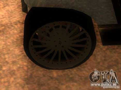 CADDY restylage de v1.0 pour GTA San Andreas vue arrière
