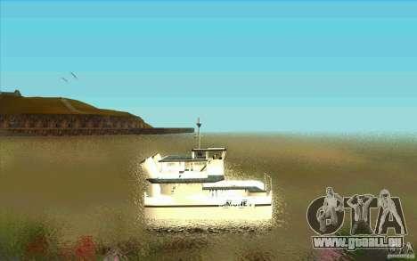 Ferry pour GTA San Andreas laissé vue