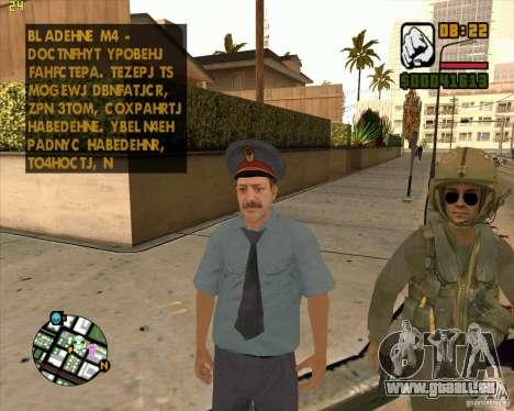 Russische Polizei Haut für GTA San Andreas