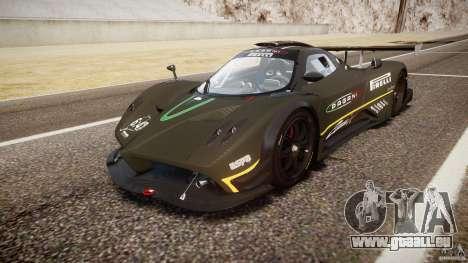 Pagani Zonda R 2009 für GTA 4