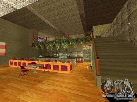 Neue innere Marco Bistro für GTA San Andreas fünften Screenshot