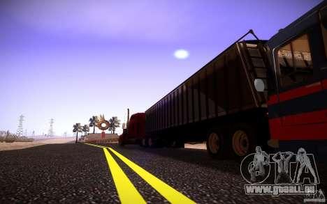 Dumper Trailer pour GTA San Andreas vue de droite