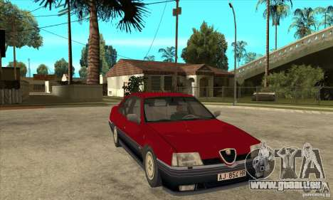 Alfa Romeo 164 für GTA San Andreas Rückansicht
