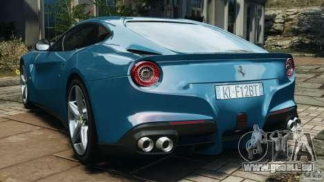 Ferrari F12 Berlinetta 2013 [EPM] pour GTA 4 Vue arrière de la gauche