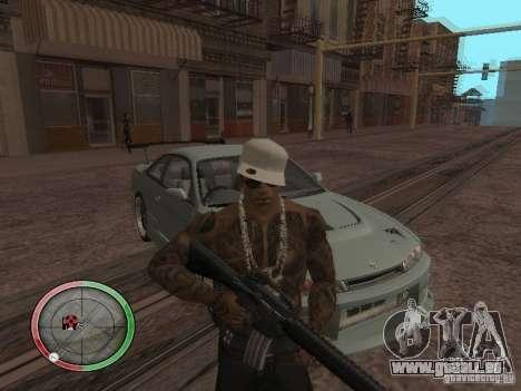 GTA IV HUD v4 by shama123 pour GTA San Andreas deuxième écran