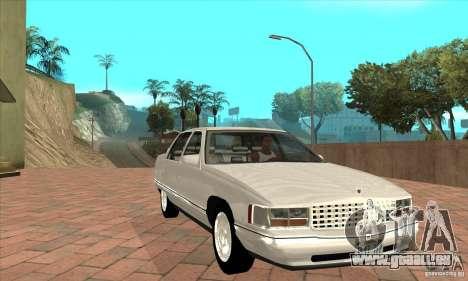 Cadillac Deville v2.0 1994 pour GTA San Andreas vue arrière