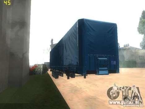 Nefaz-93341 remorque-10-07 pour GTA San Andreas vue arrière