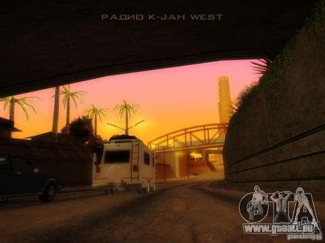 Journey für GTA San Andreas zurück linke Ansicht