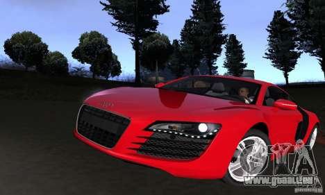 Audi R8 4.2 FSI pour GTA San Andreas