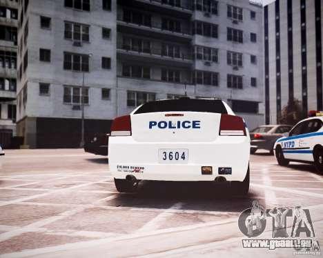 Dodge Charger 2010 NYPD ELS für GTA 4 rechte Ansicht