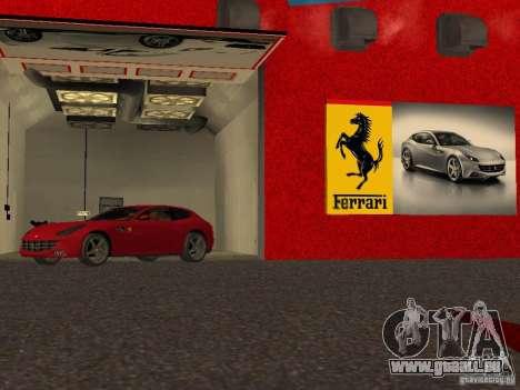Neue Ferrari-Showroom in San Fierro für GTA San Andreas achten Screenshot