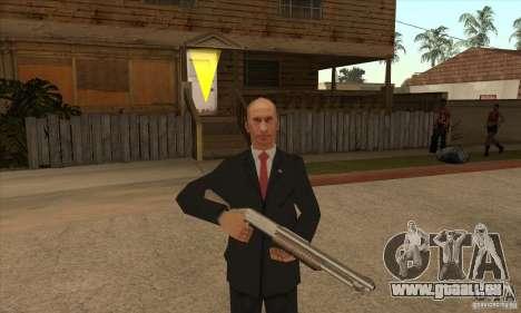 Vladimir Vladimirovich Putin für GTA San Andreas fünften Screenshot