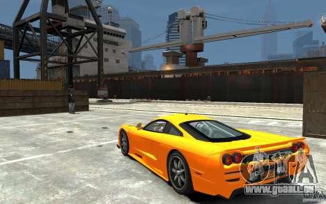 Saleen S7 für GTA 4 hinten links Ansicht