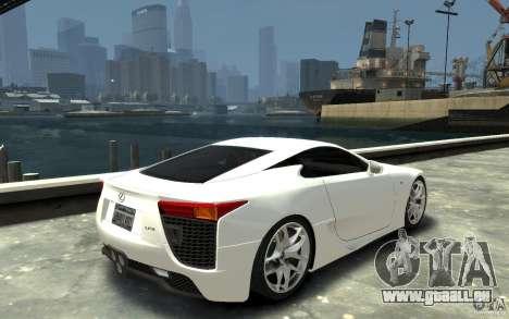 Lexus LFA v1.0 pour GTA 4 est un droit