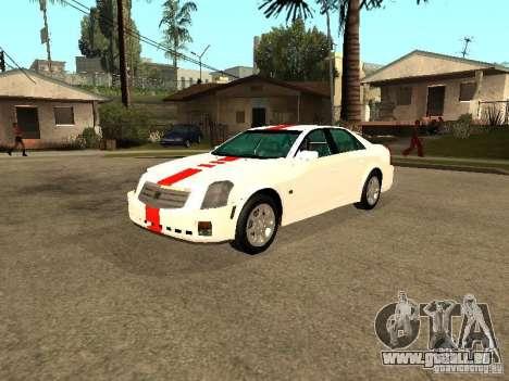 Cadillac CTS 2003 Tunable pour GTA San Andreas