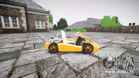 Karting pour GTA 4 est une gauche