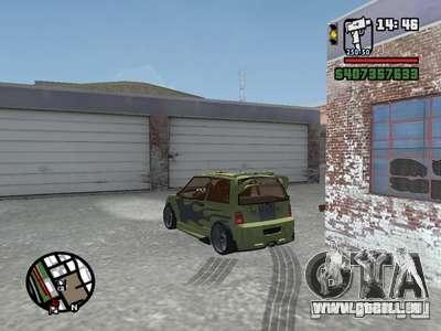 1111 OKA (tuning) pour GTA San Andreas vue de côté