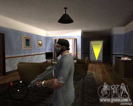 G36C pour GTA San Andreas deuxième écran