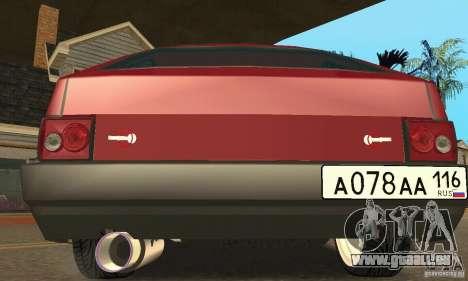 VAZ 2108 Maxi pour GTA San Andreas sur la vue arrière gauche