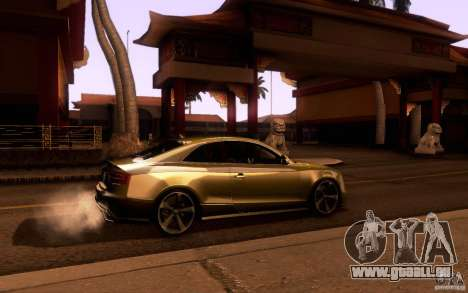 Audi RS5 für GTA San Andreas Rückansicht