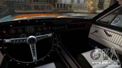Ford Mustang GT MkI 1965 für GTA 4 Innenansicht