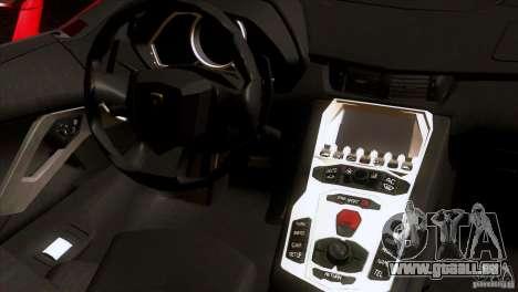 Lamborghini Aventador LP-700 J pour GTA San Andreas vue de côté
